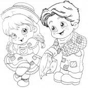 desenhos para imprimir de festa junina