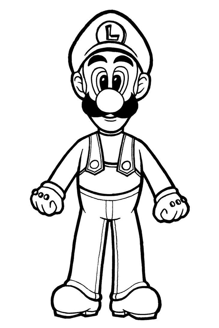 desenhos para colorir do new super mario bros