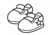desenhos de roupas de bebe para pintar