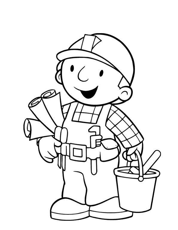 Jogo Desenhos Para Colorir Bob O Construtor Jogos Online Wx