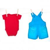 Desenhos para colorir roupas de bebê 01