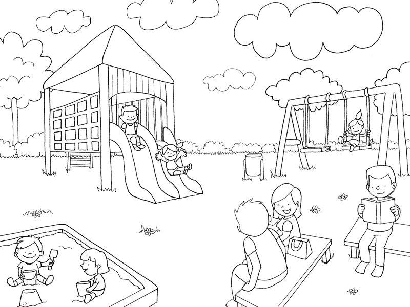 desenhos do recreio para colorir 02